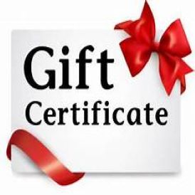 Gift Certificates Category Image